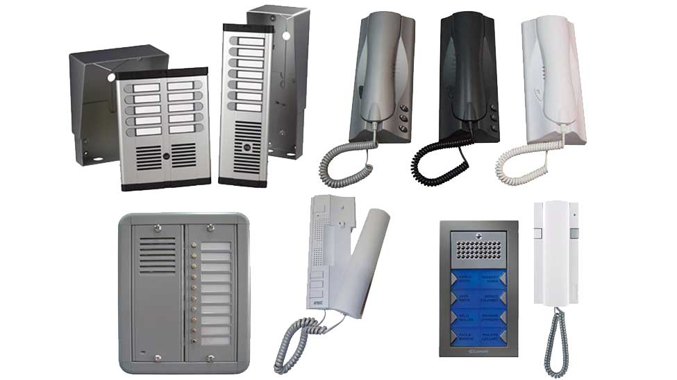 Interfoni - Audio interfonski sistemi